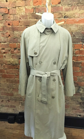 Vintage Misty Harbor Double Breasted Trench