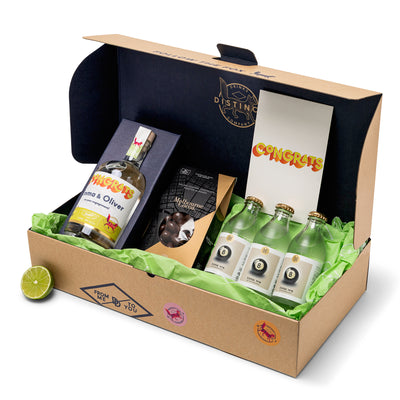 Congratulations Pack | Personalised Gin, Vodka & Gift Boxes | Distinct Drinks | Shop Online