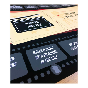 Personalized 'No Worries' Movie Date Night Signature Set