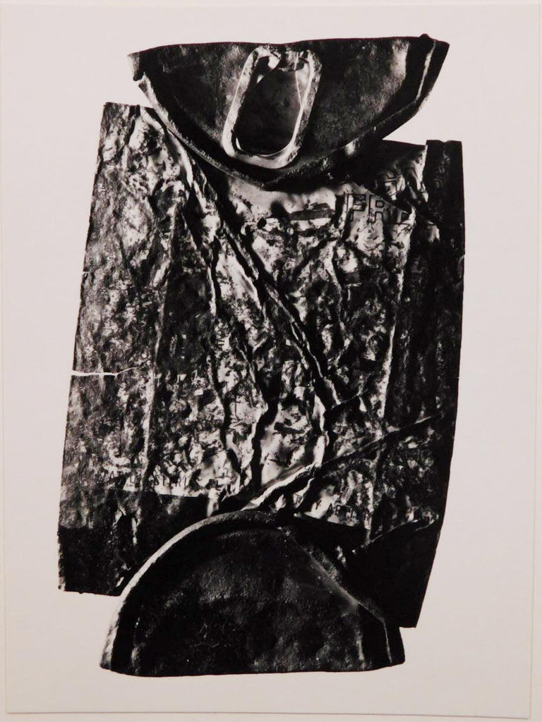 Bert Beaver: Untitled, ca. 1969 (Crushed can)