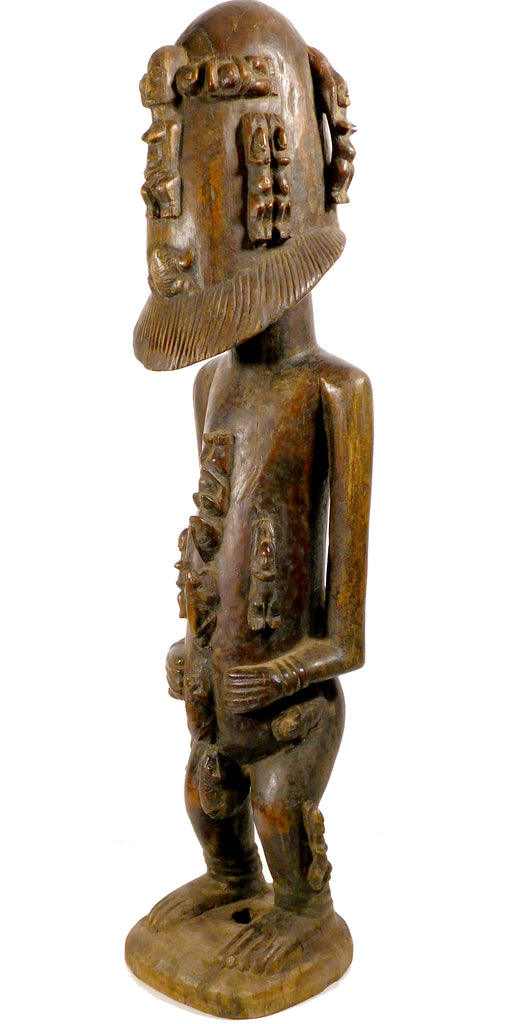 Ancestor Figure with Frogs, Dogon. Mali