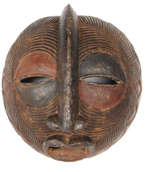 Moon  Mask, Luba, Zaire