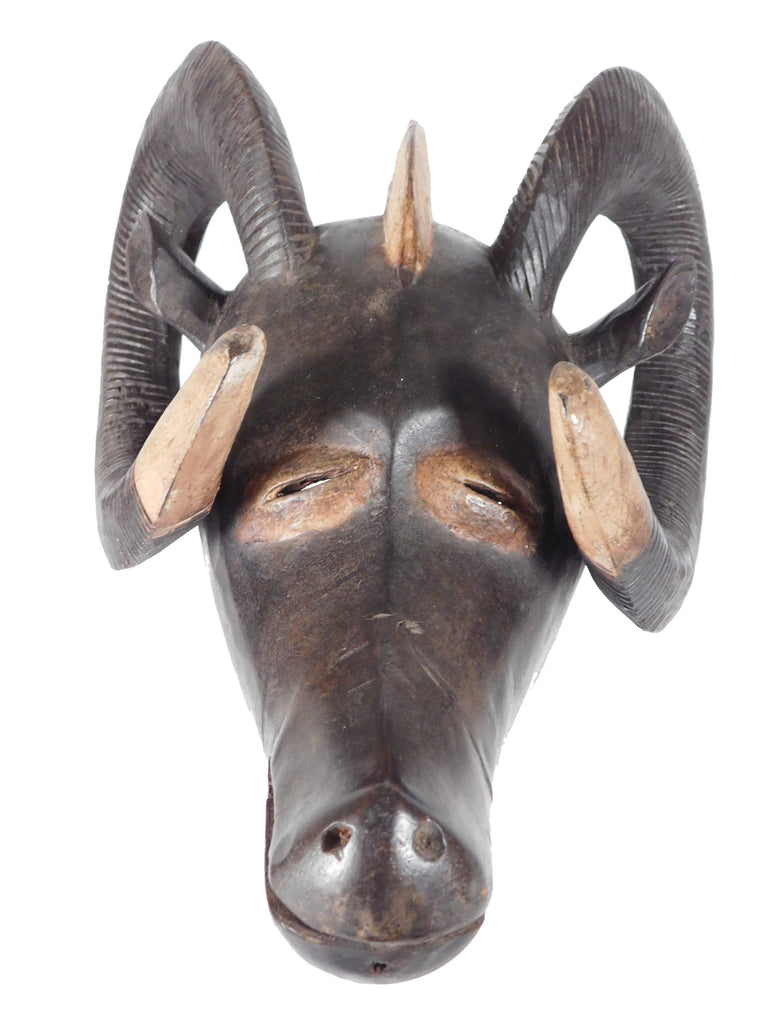 Mask w/Horns, Grunce, Burkina Faso