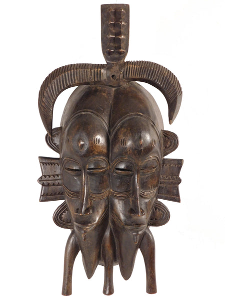 Mask of Twins, Senufo, Ivory Coast