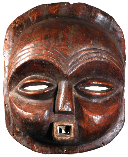 Large Sachihongo Mask, Mbunda People, Angola