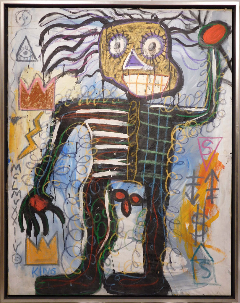 Jean-Michel Basquiat: Skeletal Figure (ME)