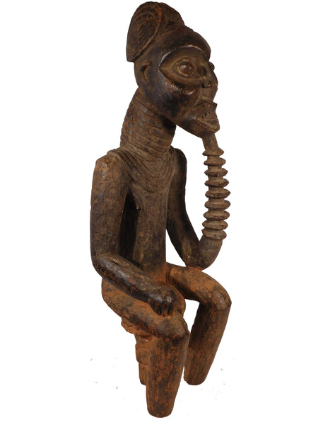 Seated Male Figure, Bangwa People, Cameroon