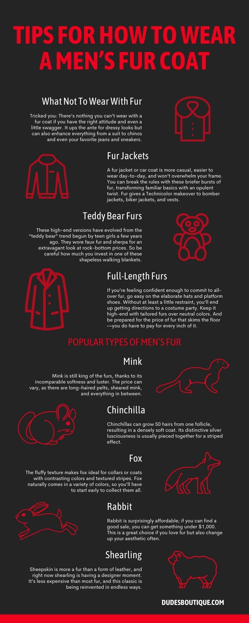 Tips for How To Wear a Men's Fur Coat