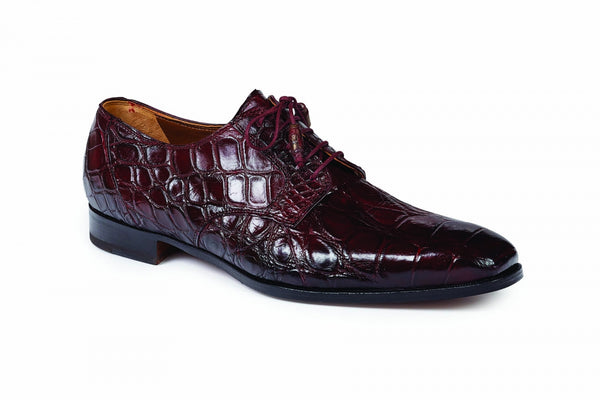 Mauri - 1059 Canaletto Ruby Red Alligator Dress Shoe