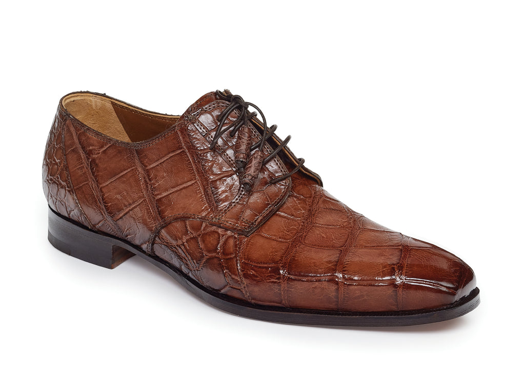 Mauri - 1059 Palladio Alligator Shoes Sport Rust - Dudes Boutique