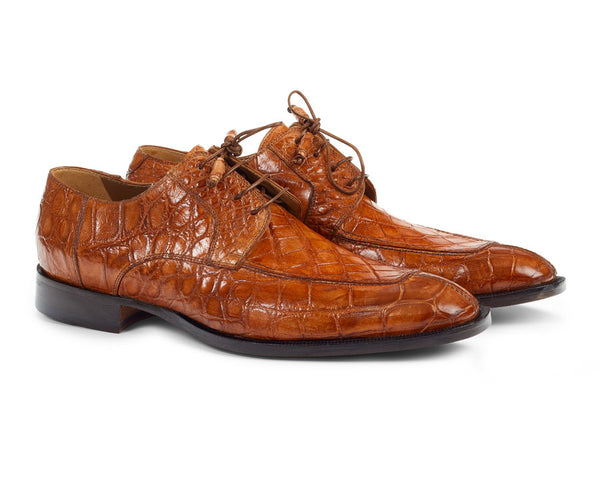 Mauri - 1081 Alligator Body Hand Painted Dress Shoes
