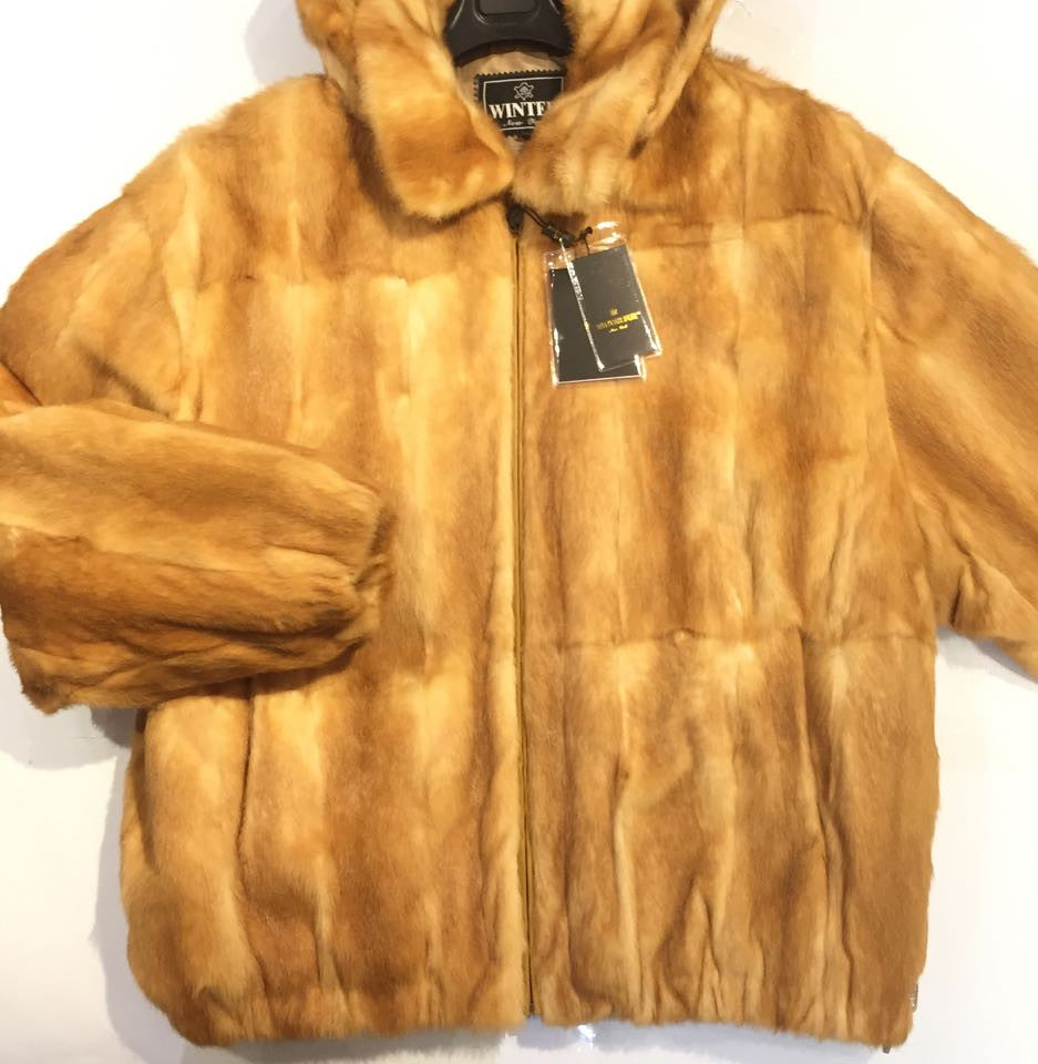 Winter Fur Whiskey Full Mink - Dudes Boutique - 1