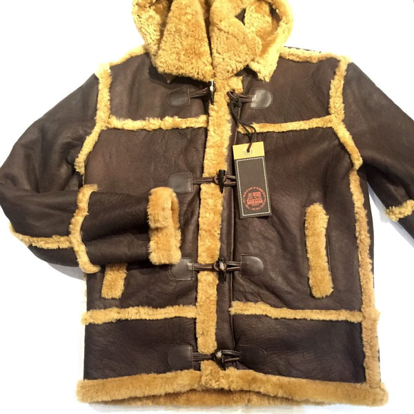 Jakewood Classic Shearling Jacket - Dudes Boutique - 1