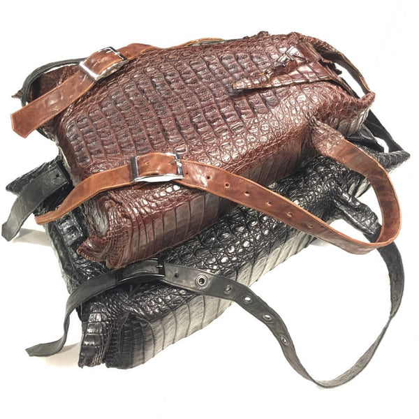Dark 8 All-Over Alligator Backpack - Dudes Boutique