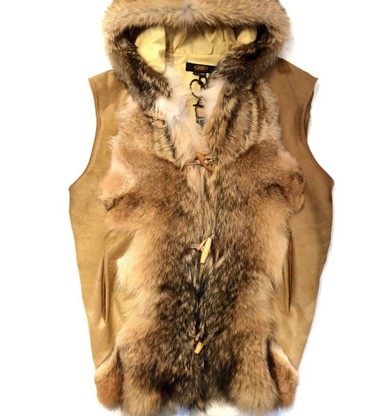 Jakewood Natural Pony Hair/Fox Vest
