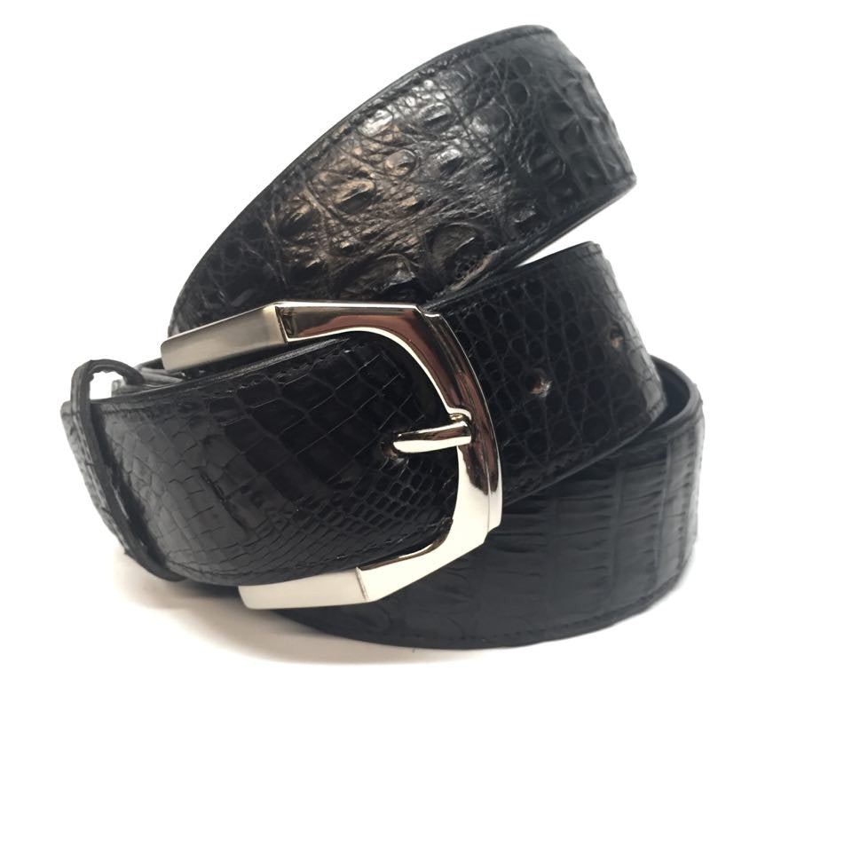 Lebedas Full Skin Crocodile Belt - Dudes Boutique - 2