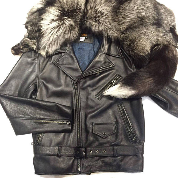 Jakewood Silver Fox Biker Jacket