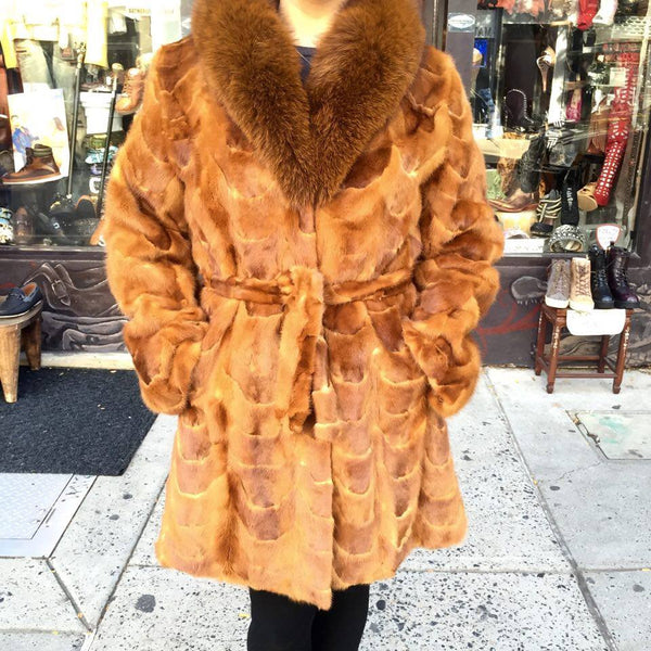 Winter Fur Women's 3/4 Mink Coat