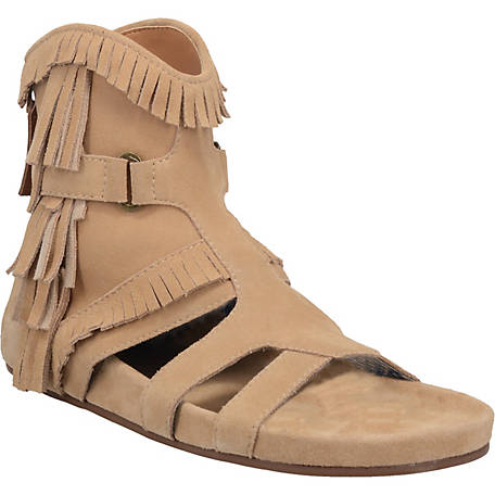 Dingo Natural Sunny Day Women's Suede Sandals - Dudes Boutique