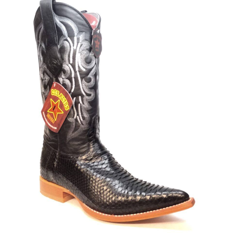 Los Altos 3125 Women Python Cowgirl Boots - Dudes Boutique