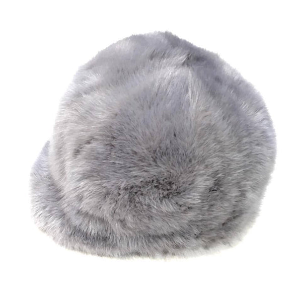Light Grey Mink Fur Riding Hat