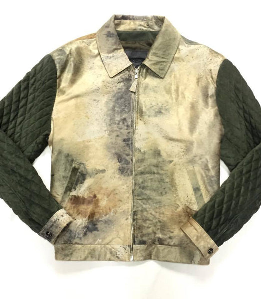 G-Gator Quilted Pony Hair Bomber Jacket - Dudes Boutique