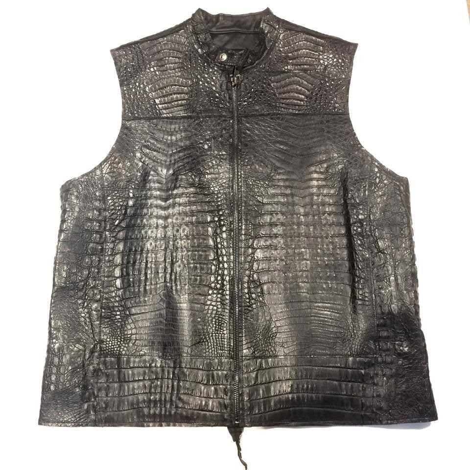 Kashani All-Over High Grade Alligator Vest