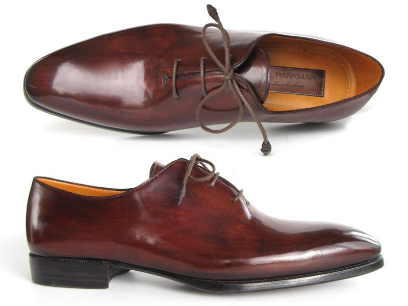 Paul Parkman Men's Oxford Dress Shoes Brown & Bordeaux - Dudes Boutique