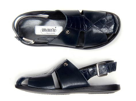 "Mauri - ""1787 Renzo""  Alligator Sandals - Dudes Boutique"