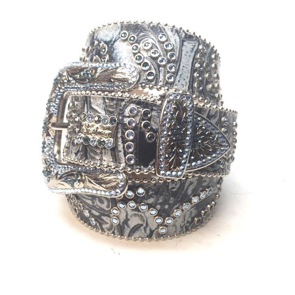 "B.B. Simon """" Swarovski Crystal Belt - Dudes Boutique"