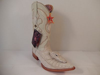 Los Altos Baby Crocodile Head Cowboy Boots *Custom*