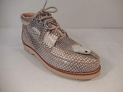 Los Altos Cobra Snake Headed Sneakers - Dudes Boutique - 1