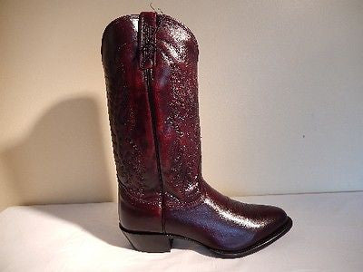 Nocona Boots Imperial Calf Leather Cowboy Boots - Dudes Boutique - 1