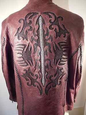 Safari Hand Made Stingray/Lamb Skin Jacket - Dudes Boutique - 1