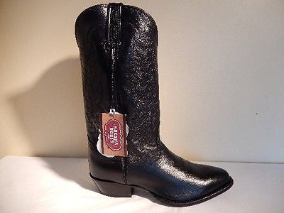 Nocona Boots Imperial Calf Leather Cowboy Boots - Dudes Boutique - 2