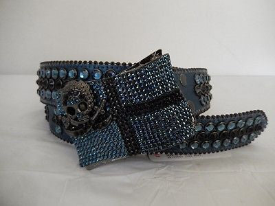 B.B. Simon 'Pirate' Swarovski Crystal Belt - Dudes Boutique