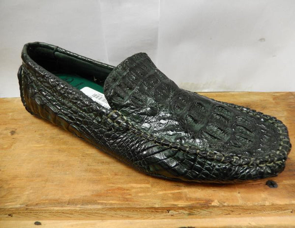 Calzoleria Toscana All-Over Horn-back Crocodile Loafers - Dudes Boutique