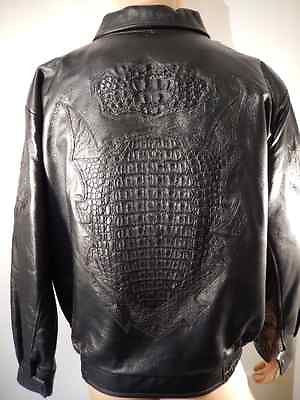 Los Altos Horn-back Crocodile & Lamb Skin Jacket - Dudes Boutique - 1