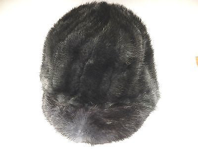 Charcoal Mink Fur Riding Hat - Dudes Boutique
