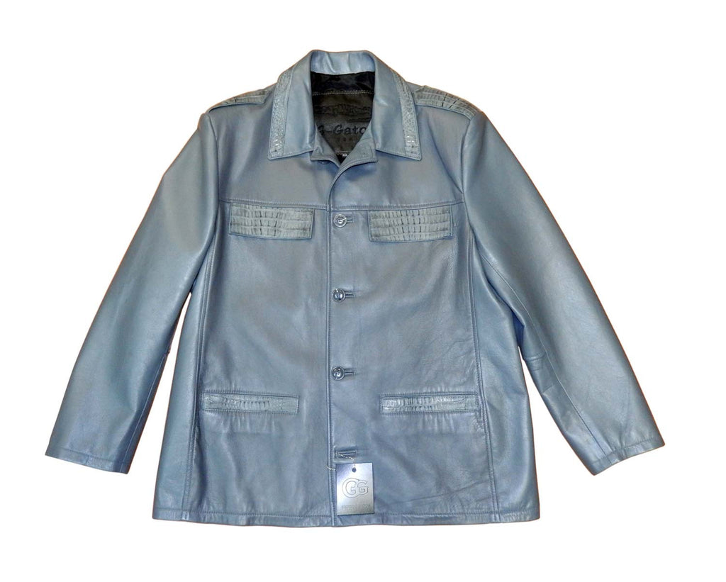 G-Gator - 2008 Lambskin/Crocodile Jacket - Dudes Boutique