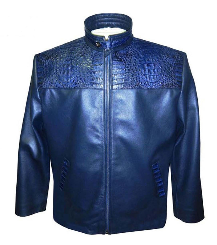 G-Gator - 2010 Lamb Skin/Crocodile Jacket - Dudes Boutique