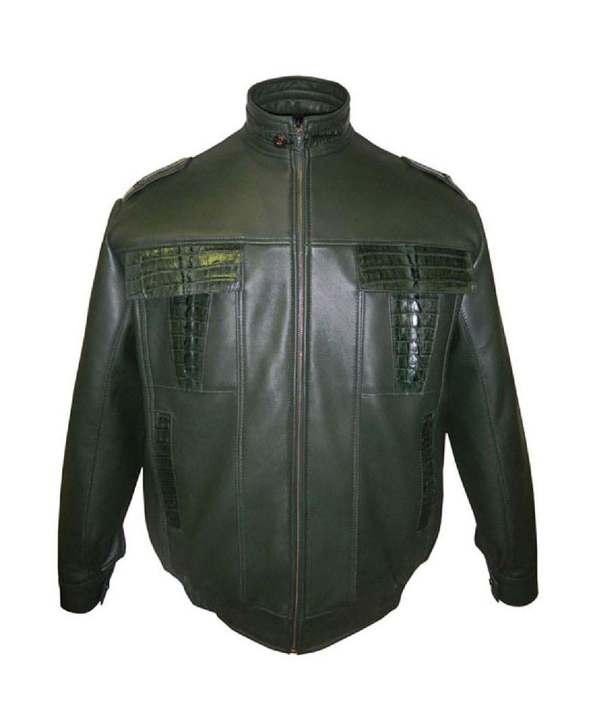 G-Gator - 2013 Lamb Skin/Crocodile Jacket - Dudes Boutique