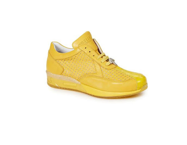 Mauri - M770 Crocodile Nappa Leather Sneakers - Dudes Boutique - 1