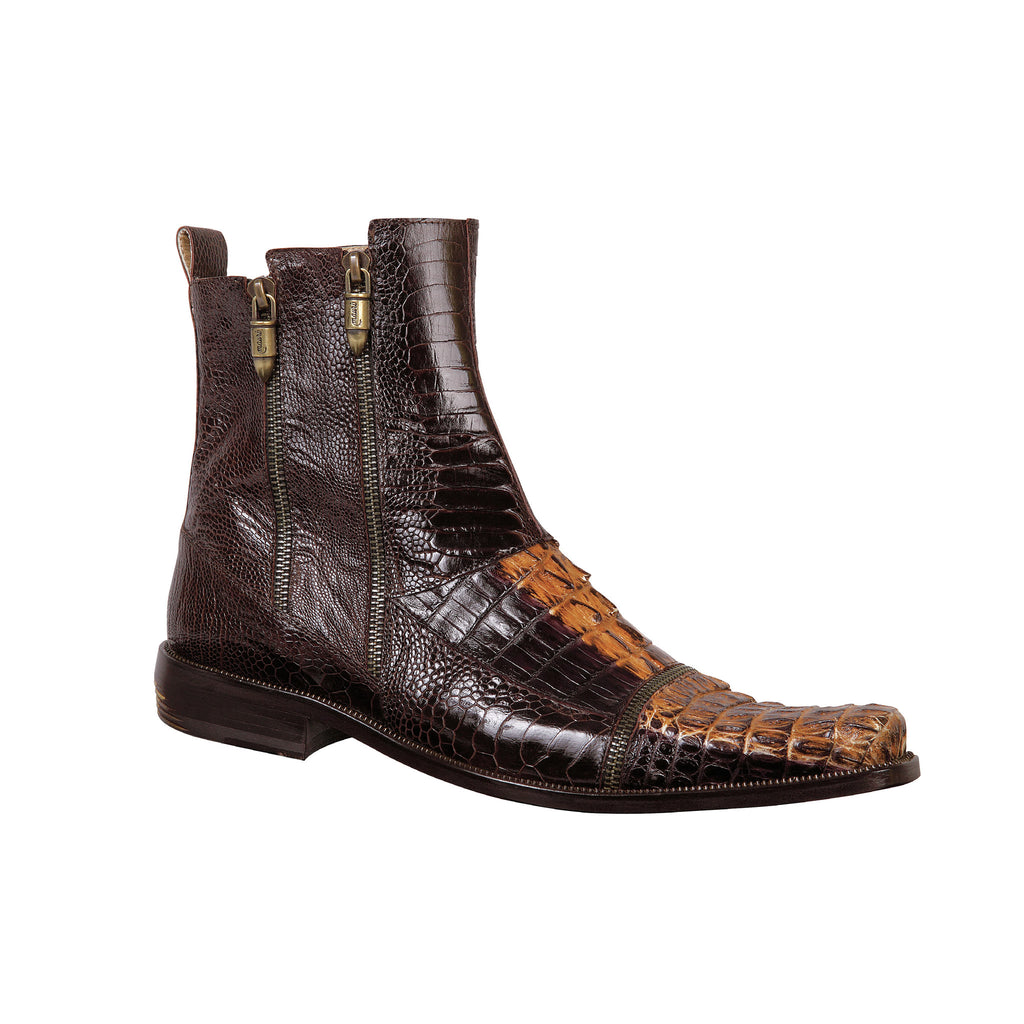 Mauri 2230 Ostrich Leg/Hornback Dress Boot - Dudes Boutique