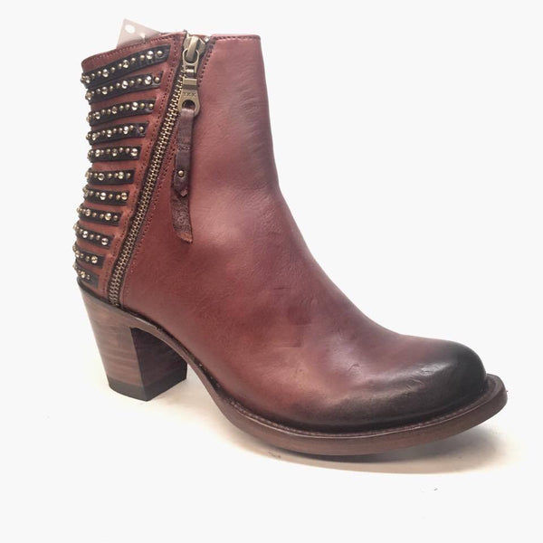 Denver Boots Lady Gabriel Brown Ankle Boots - Dudes Boutique