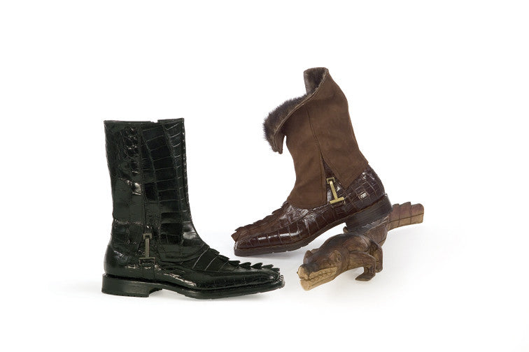 Mauri - 2582 Alligator Tail Dress Boot - Dudes Boutique