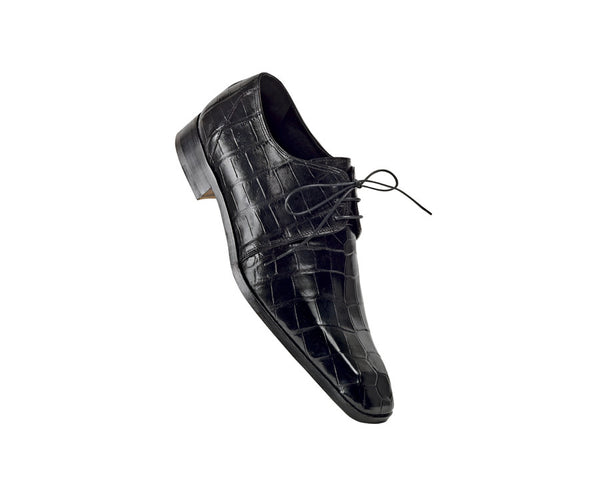 "Mauri - ""2619 Opera"" All Over Alligator Dress Shoe - Dudes Boutique - 1"