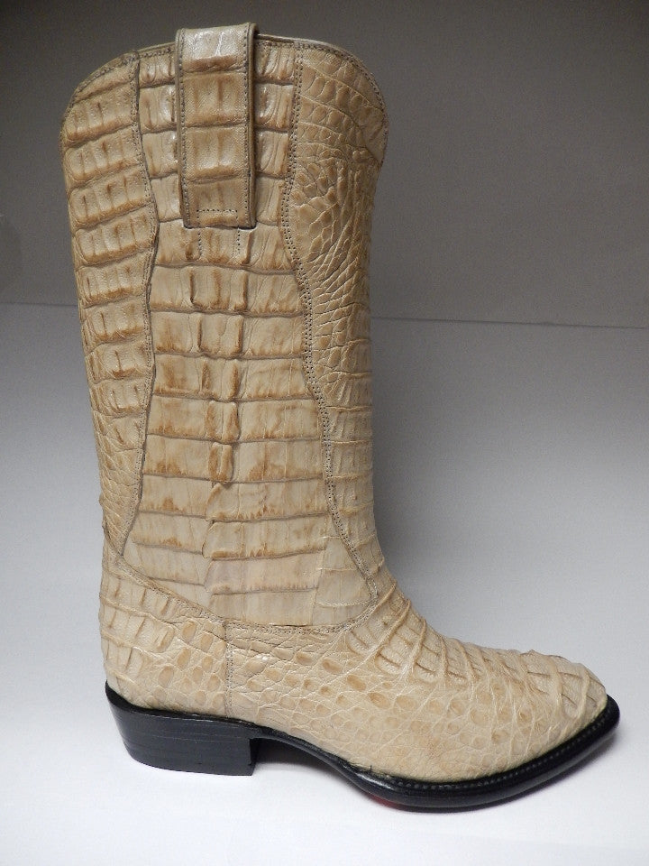 Los Altos Horn-back Crocodile Cowboy Boots 997911 - Dudes Boutique - 3