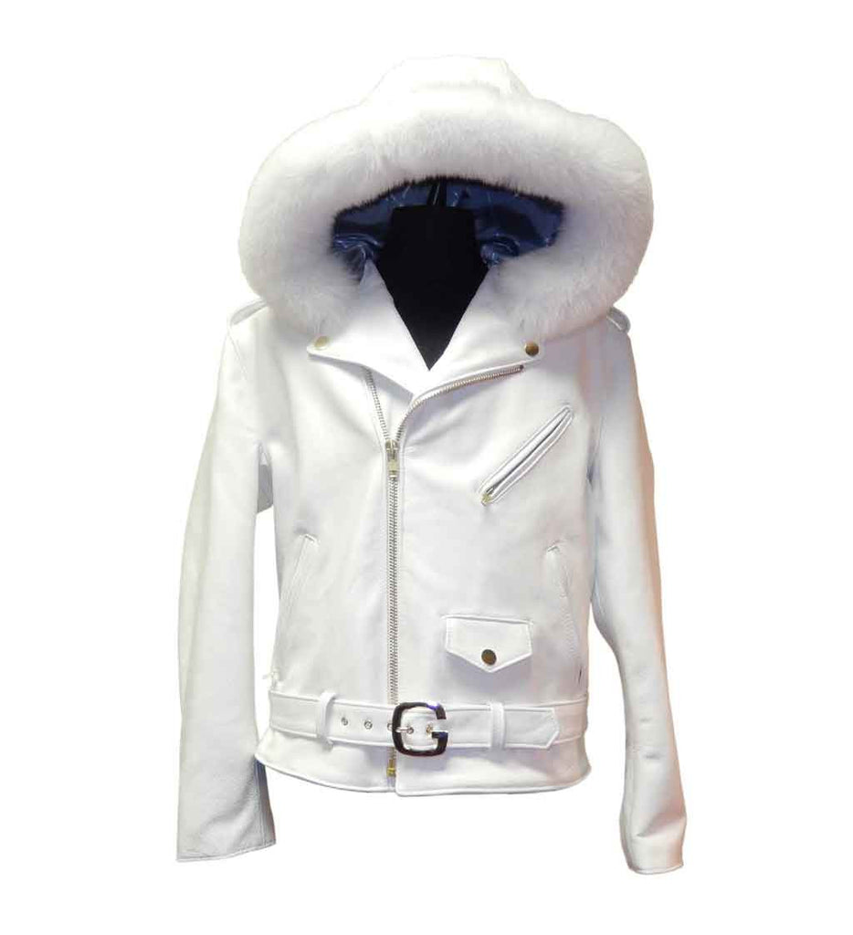 G-Gator - 3013 Hooded Lambskin Jacket - Dudes Boutique