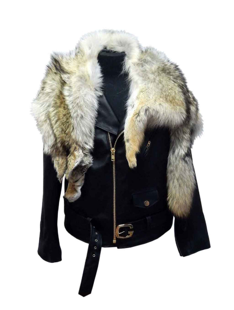 G-Gator - 3018 Raccoon/Lambskin Jacket - Dudes Boutique